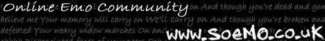 soEmo.co.uk - UK Emo Community