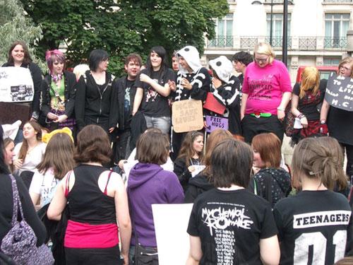 MCR Protest London
