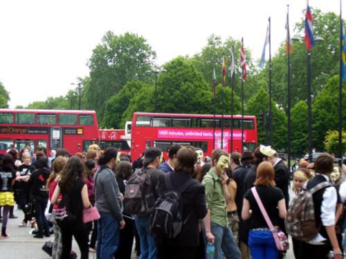 MCR Protest London UK