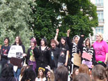 MCR Protest Crowd
