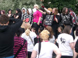 My Chemical Romance Protest Crowd