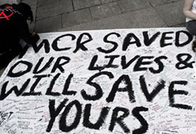 My Chemical Romance Fans Protest Against The Daily Mail