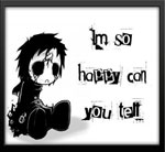 Sad Emo Cartoon