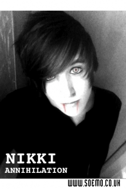 soEMO.co.uk - Emo Kids - NikkiAnnihilation - Featured Member